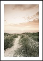 Sunrise Beach Walk Poster