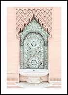 Mosaic Fountain Poster