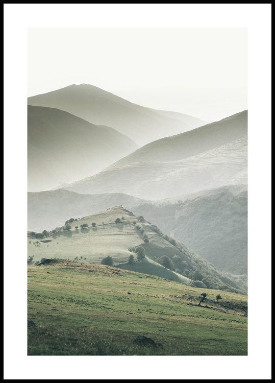 Green Mountains Poster