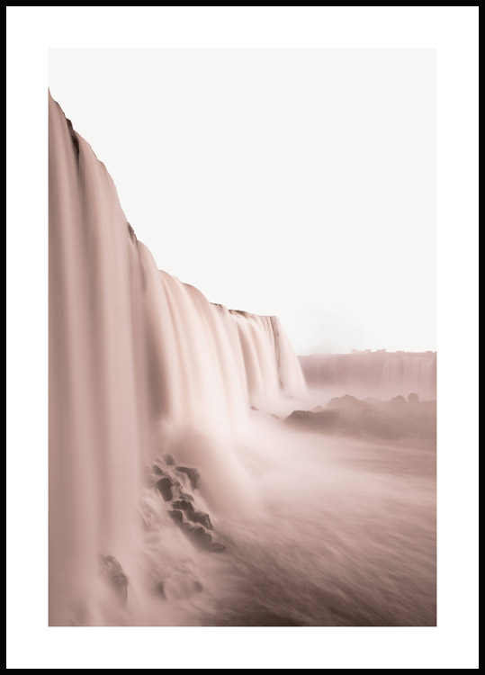 Iguazu Waterfall Poster